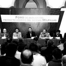 EXPERTOS, TÉCNICOS, UNIVERSITARIOS Y ASOCIACIONES RESPALDAN EL PROYECTO DE LA PRESA MILPILLAS