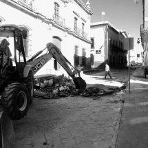 INICIA ALCALDE RESCATE DEL CENTRO HISTÓRICO CON OBRA PÚBLICA