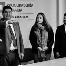 PÉREZ COMPEÁN, TITULAR DE LA OFICINA DE REPRESENTACIÓN DE LA PROCURADURÍA AGRARIA