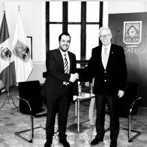 CONTINÚA ULISES MEJÍA FORTALECIENDO LAZOS DE COOPERACIÓN INTERNACIONAL