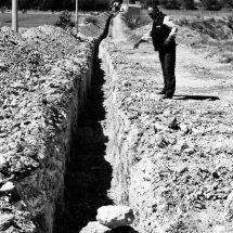 CONSTRUYEN NUEVA LÍNEA PARA LLEVAR MÁS AGUA A LA CAPITAL