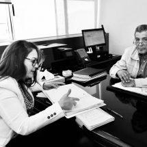 DELEGADA DE PROGRAMAS REVISA PROYECTOS DE SCT PARA ZACATECAS