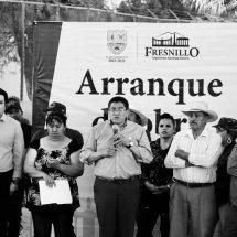 INVIERTEN 11 MDP DEL FONDO MINERO EN COMUNIDADES DE FRESNILLO