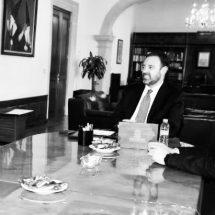 GOBERNADOR Y SUBSECRETARIO DE LA SCT ANALIZAN PROYECTOS DE INFRAESTRUCTURA CARRETERA PARA 2019