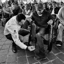 ENCABEZA ALCALDE AUDIENCIA CIUDADANA ESPECIALMENTE PARA PERSONAS CON DISCAPACIDAD
