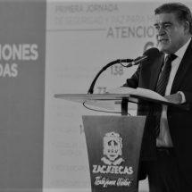 EN MATERIA DE SEGURIDAD, ZACATECAS REGISTRA INVERSIONES SIN PRECEDENTES