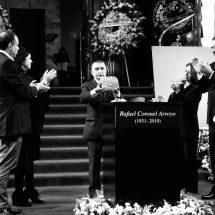 MÉXICO DESPIDE CON HONRAS AL ARTISTA RAFAEL CORONEL