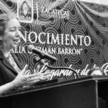 RECONOCE ALCALDE LA LABOR DE MARCELA LAGARDE PARA EMPODERAR A LA MUJER