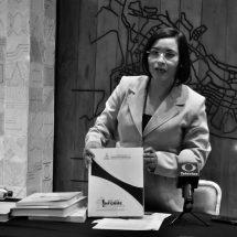BUSCA MA. DE LA LUZ DOMINGUEZ UN NUEVO PERIODO FRENTE A LA CDHEZ