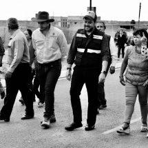 ENTREGA ALCALDE PAVIMENTACIÓN EN COLINAS DEL PADRE
