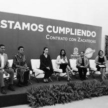 CUMPLE ALEJANDRO TELLO COMPROMISOS DEL CONTRATO CON LAS MUJERES