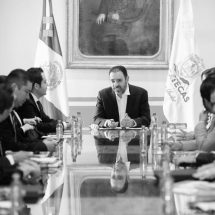 ACUERDAN GOBERNADOR Y ALCALDE DE ZACATECAS ACCIONES CONJUNTAS EN BENEFICIO DE LA POBLACIÓN