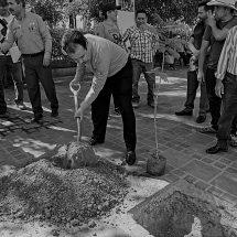 ENCABEZA MIGUEL TORRES CAMPAÑA DE REFORESTACIÓN EN VILLANUEVA