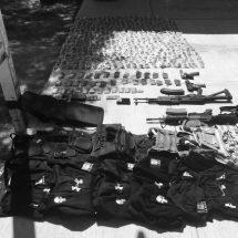 ASEGURA PEP EN LORETO ARMAS Y EQUIPO TÁCTICO