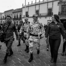 GUARDIA NACIONAL SE INTEGRA A LAS MESAS DE CONSTRUCCIÓN DE LA PAZ EN ZACATECAS
