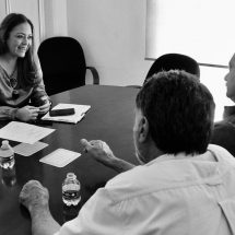 DELEGACIÓN DE PROGRAMAS Y SADER REVISAN AVANCES EN SECTOR AGROPECUARIO