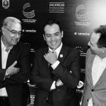 COLOCA ULISES MEJÍA HARO A ZACATECAS EN LA MIRA DEL CINE IBEROAMERICANO CON FESTIVAL INTERNACIONAL