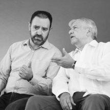 AGRADECE EL PRESIDENTE AMLO AL GOBERNADOR TELLO POR SU COLABORACIÓN