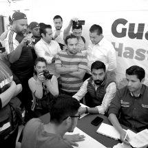 """ANTORCHISTAS """"ACALAMBRAN"""" A JULIO CÉSAR: NO MÁS REPRESIÓN, EXIGEN"""