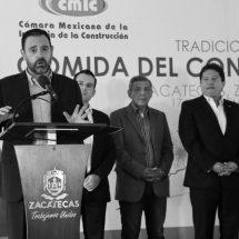 TELLO Y CONSTRUCTORES PEDIRÁN A LEGISLADORES MÁS OBRA PÚBLICA PARA ZACATECAS