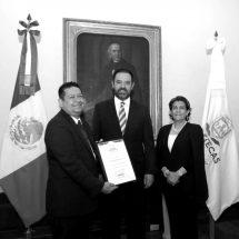 SIMITRIO QUEZADA A BIBLOTECAS Y UBALDO ÁVILA SUBSECRETARIO DE EDUCACIÓN