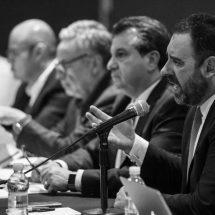 PIDE GOBERNADOR TELLO CONFORMAR UN FRENTE COMÚN PARA MEJORAR PRESUPUESTO 2020