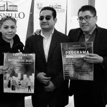 ANUNCIAN EL PRIMER FESTIVAL DE LA INCLUSIÓN 2020