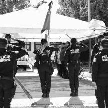 POLICÍAS DE FRESNILLO CONMEMORAN A SUS COMPAÑEROS CAÍDOS