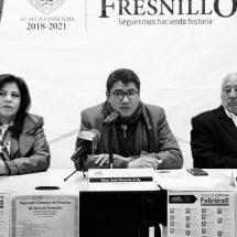 PRESENTAN AGENDA CULTURAL DE FEBRERO DE FRESNILLO
