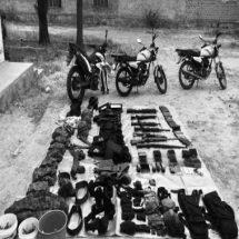 ASEGURA GN ARMAS, AUTOS, MOTOS Y EQUIPO TÁCTICO EN RÍO GRANDE