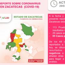 VENÍA DE PASAR UNA TEMPORADA EN EU  EL  5to CASO CONFIRMADO DE COVID-19