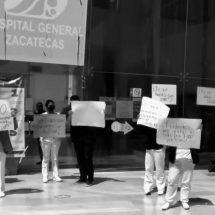 🔴 ENFERMERAS SUPLENTES DEL HOSPITAL GENERAL SE MANIFIESTAN POR MALAS CONDICIONES LABORALES