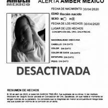 🔴 DESACTIVAN ALERTA AMBER POR SUPUESTO ROBO DE RECIÉN NACIDO