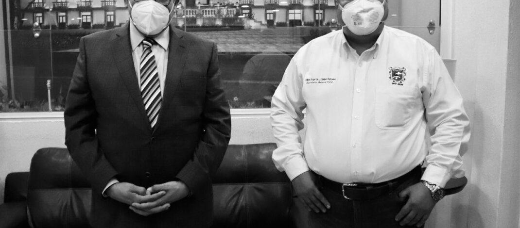 🔷 ACUERDAN EL ALCALDE SAÚL MONREAL Y EL SUTSEMOP AUMENTO SALARIAL DEL 3.5% PARA LOS TRABAJADORES